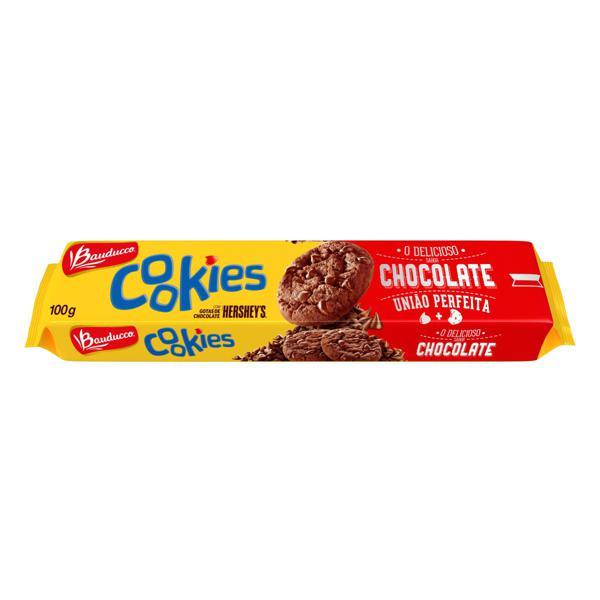 Biscoito Cookie Chocolate com Gotas de Chocolate Hershey's Bauducco Pacote 100g