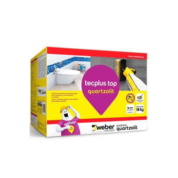 À vista 10% desc (boleto) - Impermeabilizante Tecplus Top Caixa 18Kg