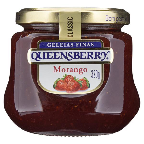 Geleia Morango Queensberry Classic Vidro 320g
