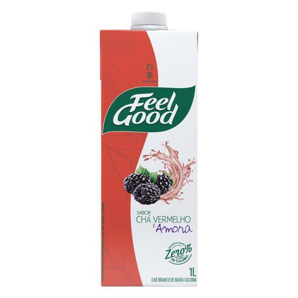 Chá Vermelho Amora Feel Good Caixa 1l