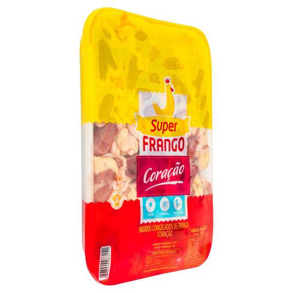 Coração de Frango Congelado SUPERFRANGO 1kg