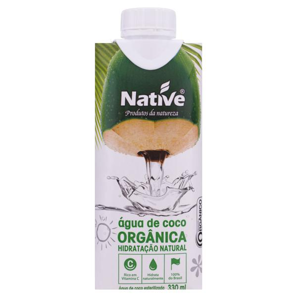 Água de Coco Esterilizada Orgânica Native Caixa 330ml