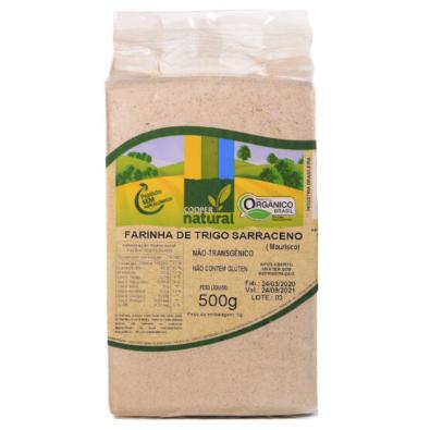 Farinha de Trigo Sarraceno Coopernatural 500g