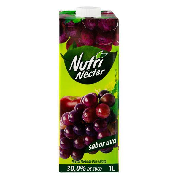 Néctar Misto Uva Nutrinéctar Caixa 1l