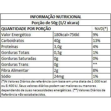 Farinha de Arroz Integral Fito 500g