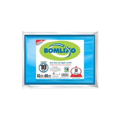 Sacos para Lixo BOMLIXO Azul 50L
