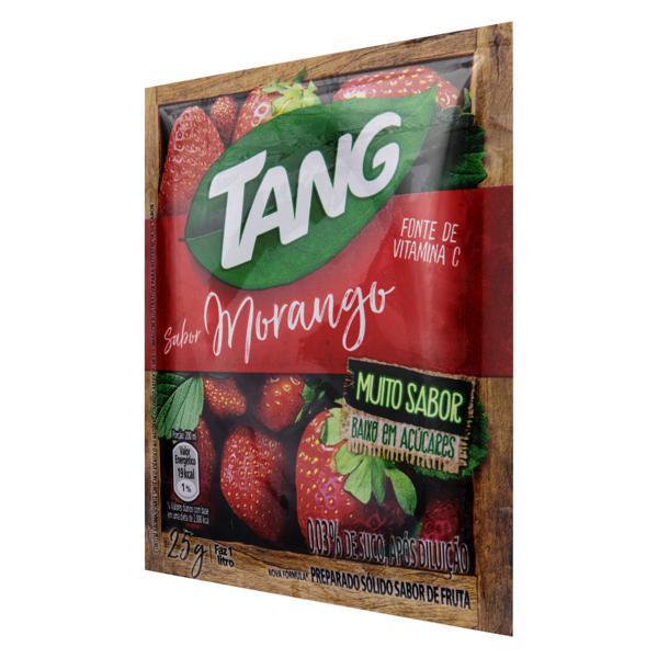 Refresco em Pó Morango Tang Pacote 25g
