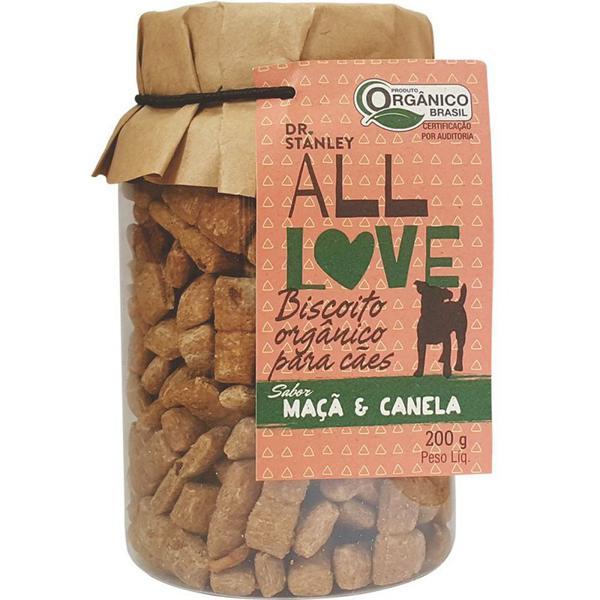 Biscoito Orgânico para Cães Maçã & Canela 200g - Dr. Stanley