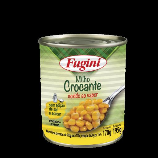 Milho V Crocante Fugini 170G Vapor