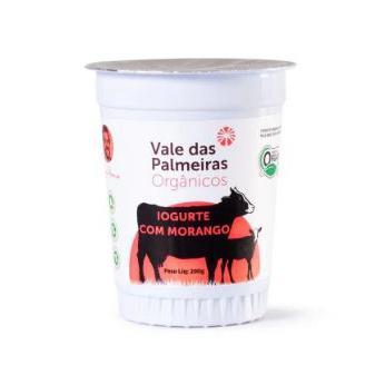 Iogurte Vale Das Palmeiras Morango Organico 200Ml