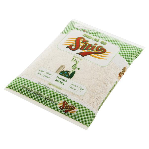 Farinha de Mandioca Tipo 1 Baiana Sítio Pacote 1kg