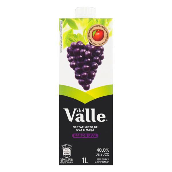 Suco Del Valle Mais 1L Tp Uva