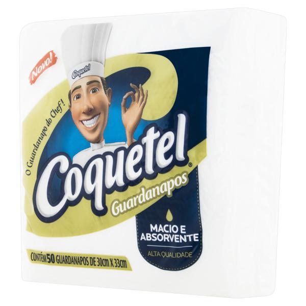 Guardanapo de Papel Coquetel 30cm x 33cm Pacote 50 Unidades