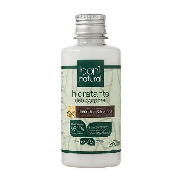 Hidratante corporal amêndoa e lavanda 250ml - Boni