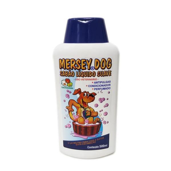 Shampoo Para Caes Mersey Antipulgas 500Ml