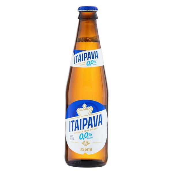 Cerveja Pilsen Zero Álcool Itaipava Garrafa 355ml