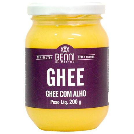 Manteiga Ghee com Alho 200g - Benni