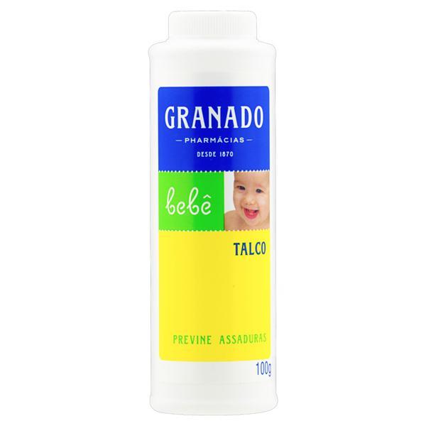 Talco Granado Bebê Frasco 100g