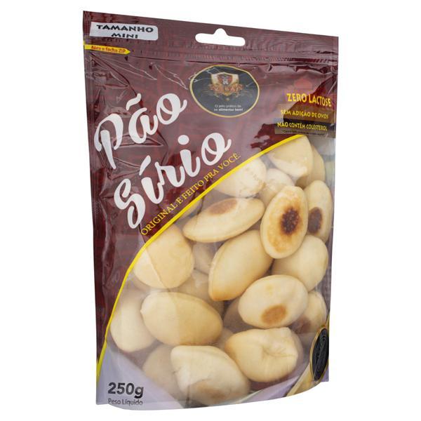 Pão Sírio Mini Zero Lactose Kebai Pacote 250g