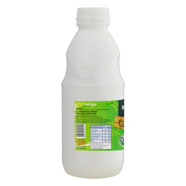 Leite Pasteurizado Integral Orgânico Malunga Garrafa 1l