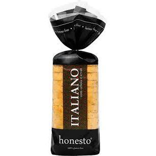 Pão S/Glúten Italiano 500g - Honesto