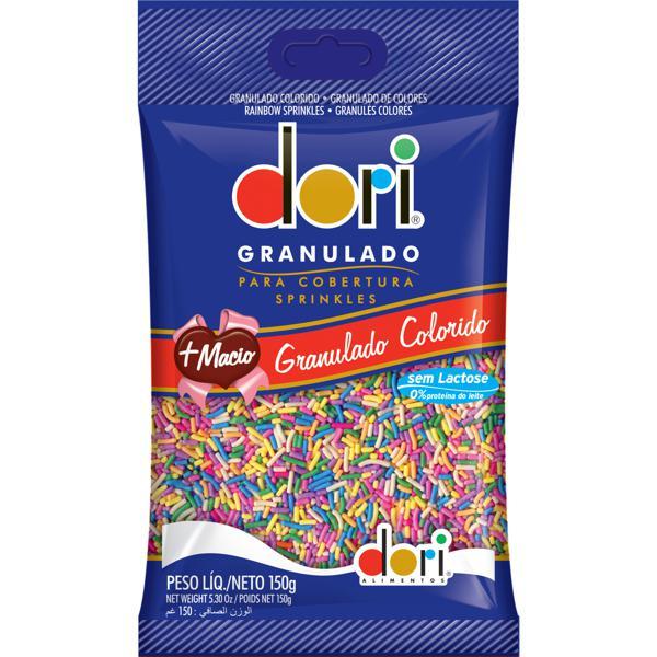 Chocolate Granulado Dori 150G Colorido