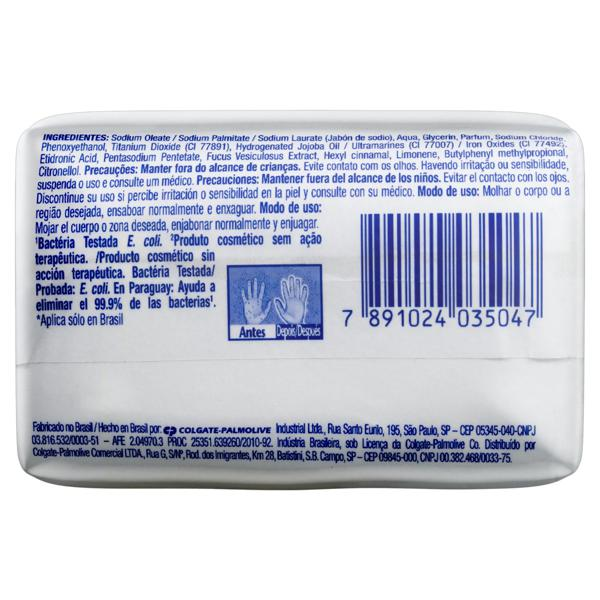 Sabonete em Barra Antibacteriano Original Protex Limpeza Profunda Cartucho 85g
