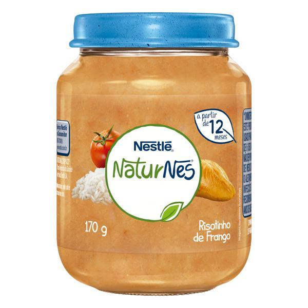 Sopinha Risotinho de Frango Nestlé Naturnes Vidro 170g