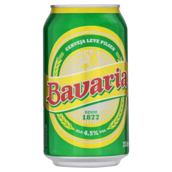 Cerveja Pilsen Bavaria Lata 350ml