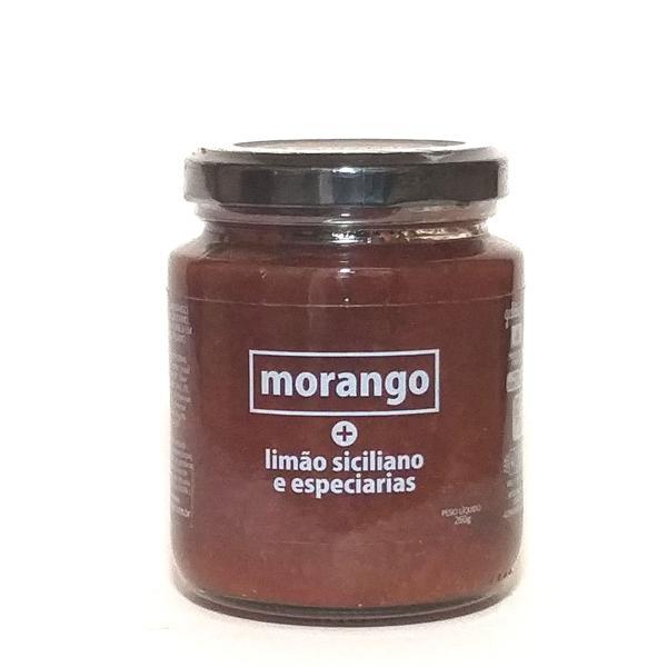 Geleia de Morango com Limão Siciliano e Especiarias 260g - Expressar Gourmet