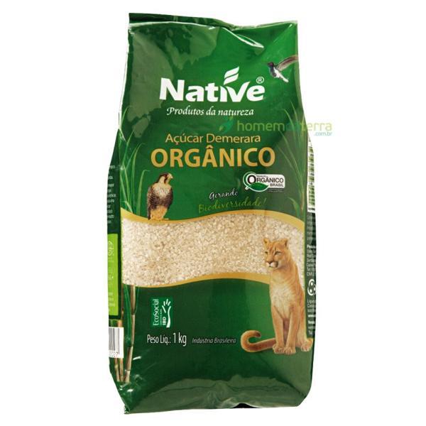 Açúcar Demerara Native 1Kg