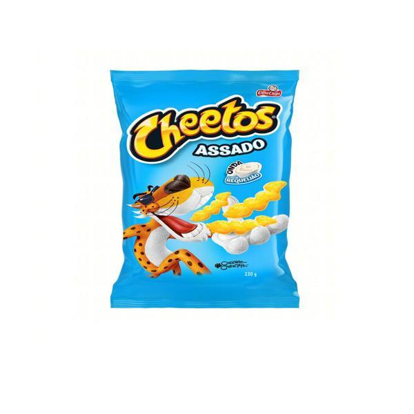 Salgadinho Elma Chips Cheetos Onda Sabor Requeijão 230g