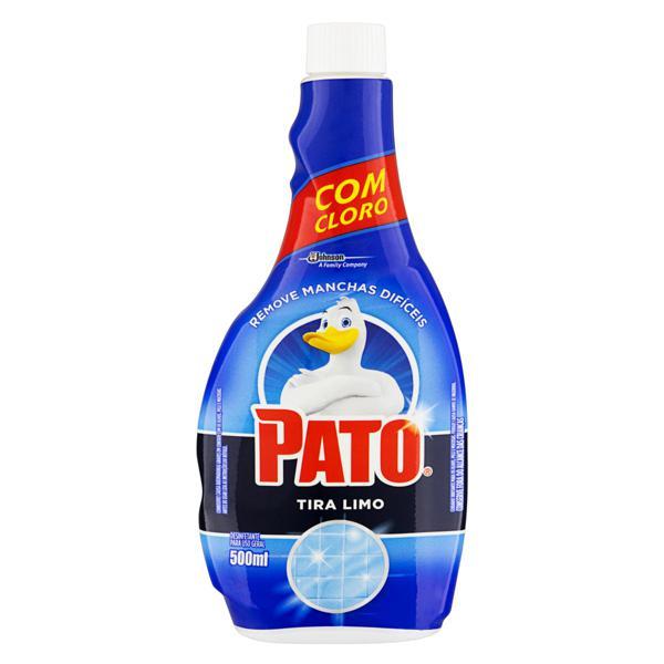 Desinfetante Uso Geral Tira-Limo Pato Frasco 500ml Refil