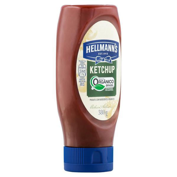 Ketchup Orgânico Tradicional  Hellmann's Squeeze 380g