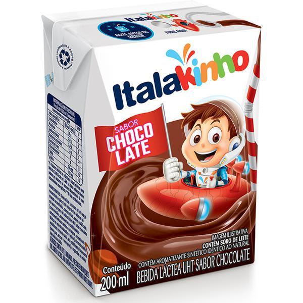 Bebida Láctea ITALAC Chocolate 200ml
