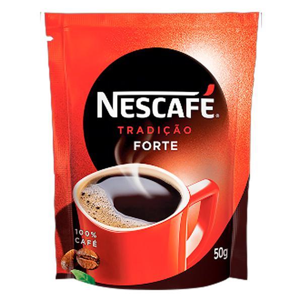 Café Solúvel Forte Nescafé Tradição Sachê 50g