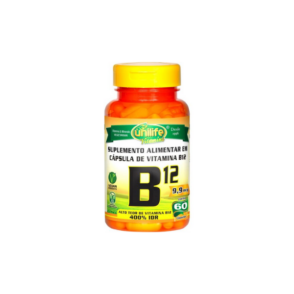 Vitamina UNILIFE Vitamina B12 Cianocobalamina