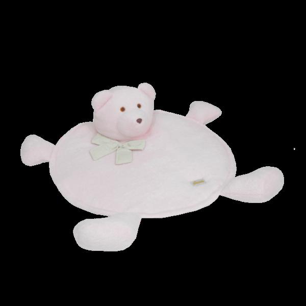 Tapete Urso Pata Chique Rosa