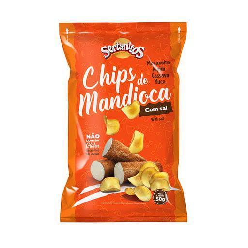Chips de Mandioca 50g - Sertanitos
