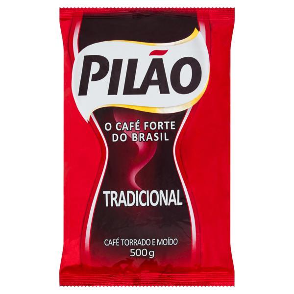 Café Torrado e Moído Tradicional Pilão Pacote 500g