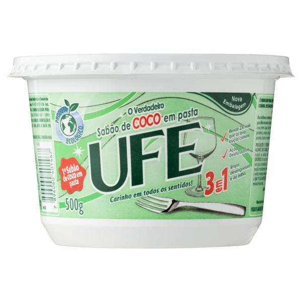 Sabão em Pasta Coco Ufe Pote 500g