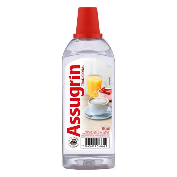 Adoçante Líquido Tradicional Assugrin Frasco 100ml