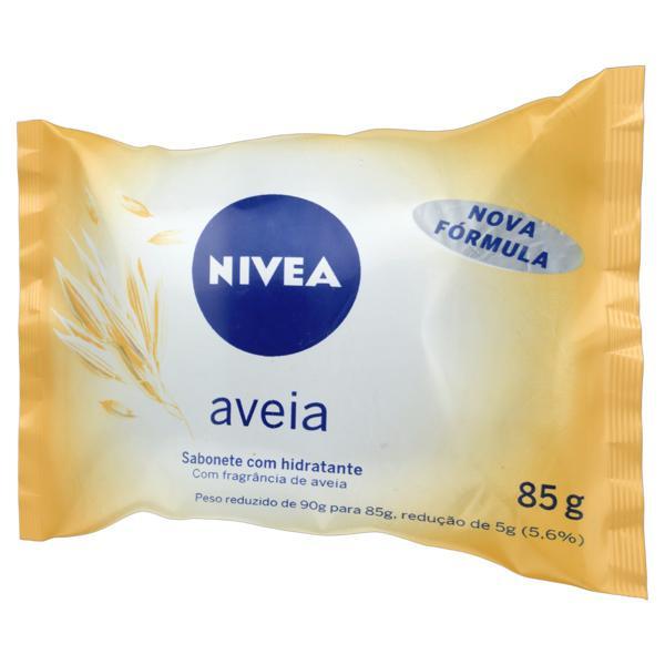 Sabonete em Barra Hidratante Aveia Nivea Pacote 85g