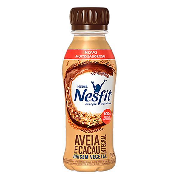 Bebida à Base de Aveia Integral Cacau Nestlé Nesfit Frasco 260ml