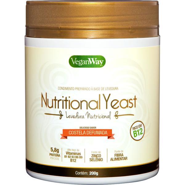 Levedura nutricional sabor costela defumada 200g - VeganWay