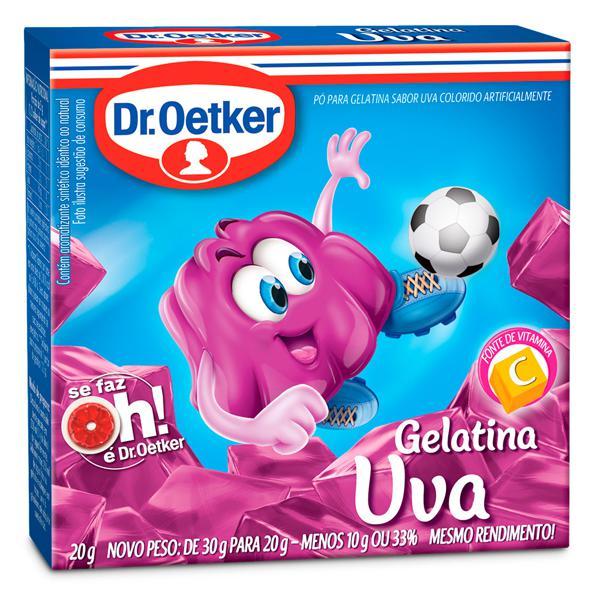 Gelatina de Uva DR.OETKER 20g