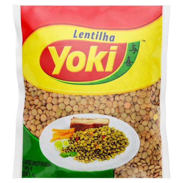 Lentilha Tipo 1 Yoki Pacote 500g