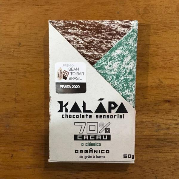 Barra de chocolate 70% cacau 50g - Kalapa