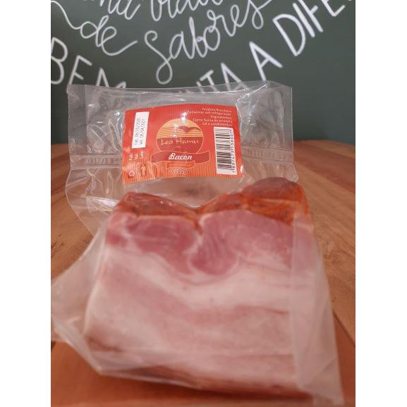 Bacon Artesanal Pedaço (em média 200g) LEO HAMU