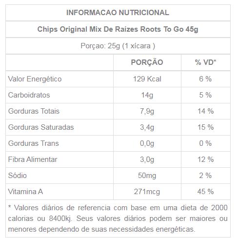 Chips Original Roots 45g